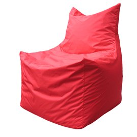 Бескаркасное кресло мешок Фокс Ф2.1-06 (Красный)