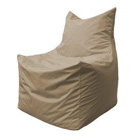 Бескаркасное кресло мешок Фокс Ф2.2-01 (темно-бежевый)
