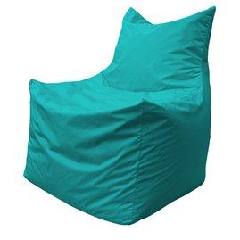 Бескаркасное кресло мешок Фокс Ф2.2-13 (Бирюзовый)