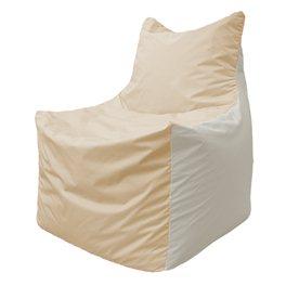 Кресло-мешок Фокс Ф 21-152 (слоновая кость - белый)