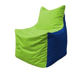 Кресло-мешок Фокс Ф 21-159 (салатовый - синий)