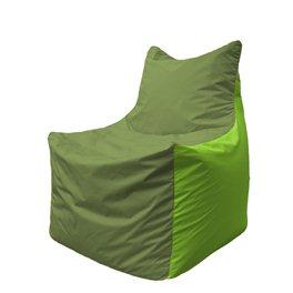 Кресло-мешок Фокс Ф 21-161 (оливково-салатовый)
