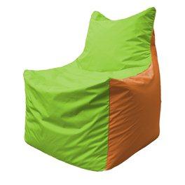Кресло-мешок Фокс Ф 21-163 (салатовый - оранжевый)