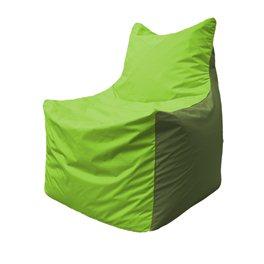 Кресло-мешок Фокс Ф 21-164 (салатовый - оливковый)
