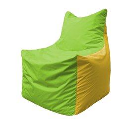 Кресло-мешок Фокс Ф 21-167 (салатовый - жёлтый)