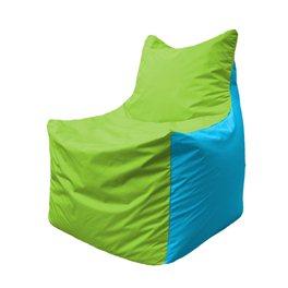 Кресло-мешок Фокс Ф 21-168 (салатовый - голубой)