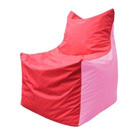 Кресло-мешок Фокс Ф 21-175 (красно-розовый)