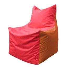 Кресло-мешок Фокс Ф 21-176 (красно-оранжевый)