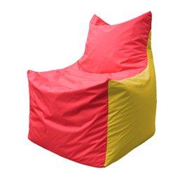Кресло-мешок Фокс Ф 21-178 (красно-жёлтый)
