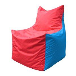 Кресло-мешок Фокс Ф 21-179 (красно-голубой)