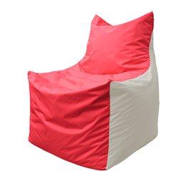 Кресло-мешок Фокс Ф 21-181 (красно-белый)