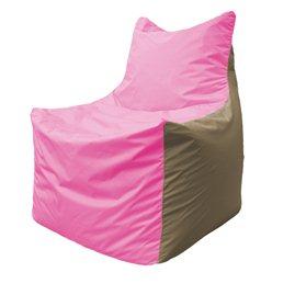 Кресло-мешок Фокс Ф 21-193 (розово-бежевый)