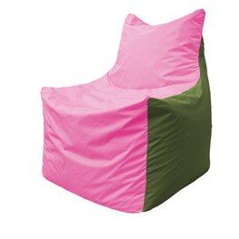 Кресло-мешок Фокс Ф 21-198 (розово-оливковый)