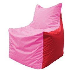 Кресло-мешок Фокс Ф 21-199 (розово-красный)