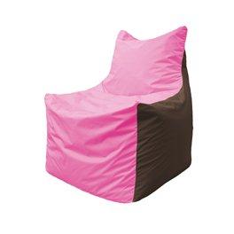 Кресло-мешок Фокс Ф 21-200 (розово-коричневый)