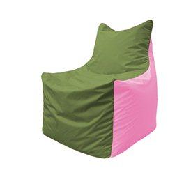 Кресло-мешок Фокс Ф 21-226 (оливково-розовый)
