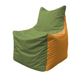 Кресло-мешок Фокс Ф 21-227 (оливково-оранжевый)