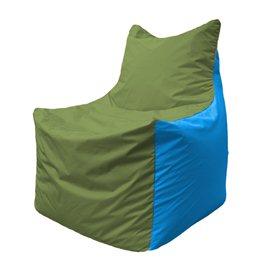 Кресло-мешок Фокс Ф 21-229 (оливково-голубой)