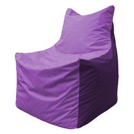 Кресло-мешок Фокс Ф 21-102 (сиреневый - фиолетовый)