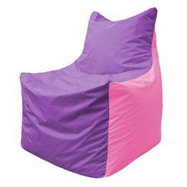 Кресло-мешок Фокс Ф 21-109 (сиреневый - розовый)