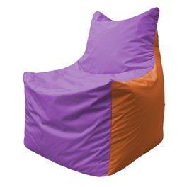 Кресло-мешок Фокс Ф 21-110 (сиренево - оранжевый)