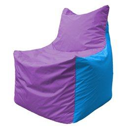 Кресло-мешок Фокс Ф 21-111 (сиреневый - голубой)