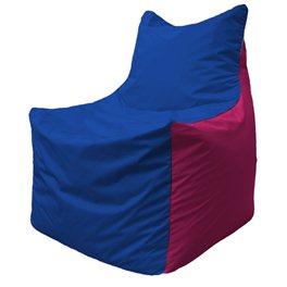 Кресло-мешок Фокс Ф 21-116 (василёк - малиновый)