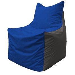 Кресло-мешок Фокс Ф 21-118 (василёк - тёмно-синий)