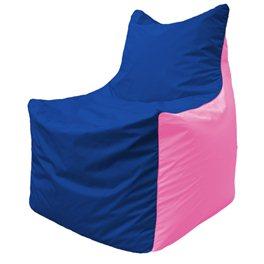 Кресло-мешок Фокс Ф 21-120 (василёк - розовый)