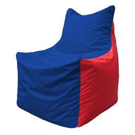 Кресло-мешок Фокс Ф 21-122 (василёк - красный)