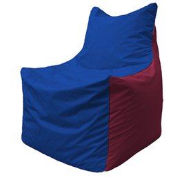 Кресло-мешок Фокс Ф 21-123 (василёк - бордовый)