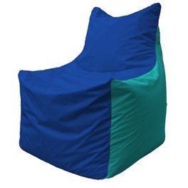 Кресло-мешок Фокс Ф 21-124 (василёк - бирюзовый)