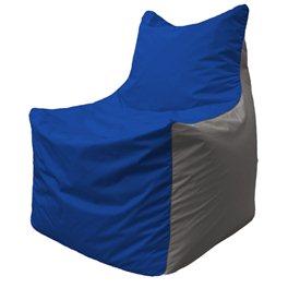 Кресло-мешок Фокс Ф 21-126 (василёк - светло-серый)
