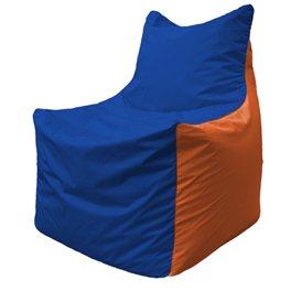 Кресло-мешок Фокс Ф 21-127 (василёк - оранжевый)