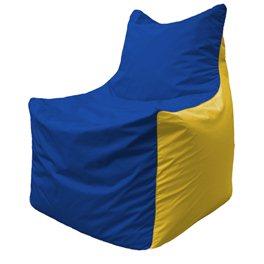 Кресло-мешок Фокс Ф 21-128 (василёк - жёлтый)
