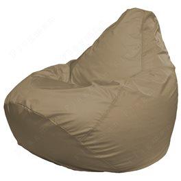 Кресло-мешок Груша Макси темно-бежевое