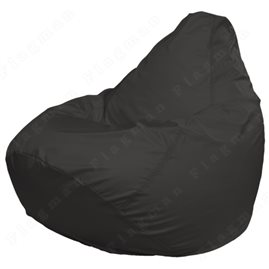 Кресло-мешок Груша Макси темное-серое