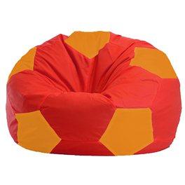 Кресло-мешок Мяч красно - оранжевое 1.1-176
