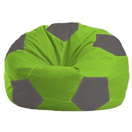 Кресло-мешок Мяч салатово - светло-серое 1.1-160