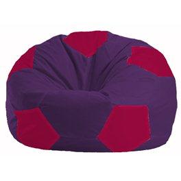 Кресло-мешок Мяч фиолетовый - малиновый М 1.1-68
