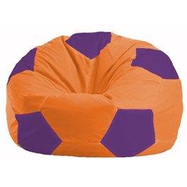 Кресло-мешок Мяч оранжевый - фиолетовый М 1.1-208