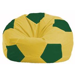 Кресло-мешок Мяч жёлтый - зелёный М 1.1-262