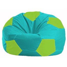 Кресло-мешок Мяч бирюзовый - салатовый М 1.1-294