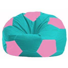 Кресло-мешок Мяч бирюзовый - розовый М 1.1-295
