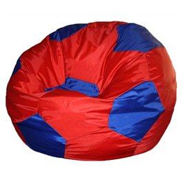 """Кресло-мешок """"Мяч Стандарт"""" красно-синее"""