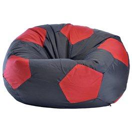 Кресло-мешок Мяч Стандарт черно-красный