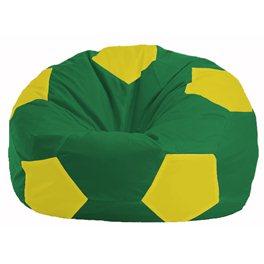 Кресло-мешок Мяч зелёный - жёлтый М 1.1-463