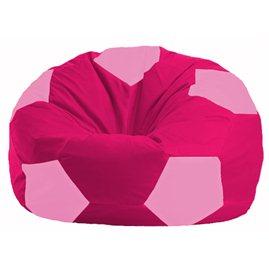 Кресло-мешок Мяч малиновый - розовый М 1.1-389