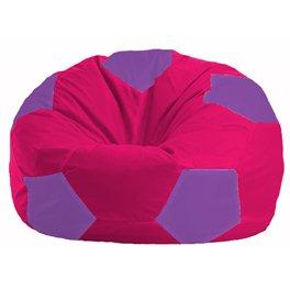 Кресло-мешок Мяч малиновый - сиреневый М 1.1-376