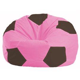 Кресло-мешок Мяч розовый - коричневый М 1.1-200